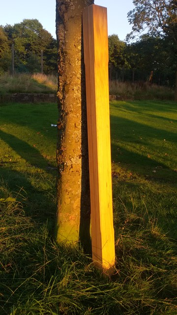 Accoya Stop Bevelled 2100mm high Post F-A-P1